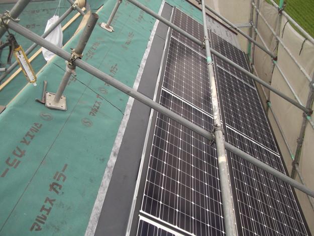 太陽光ソーラーパネル設置工事DSCF1953