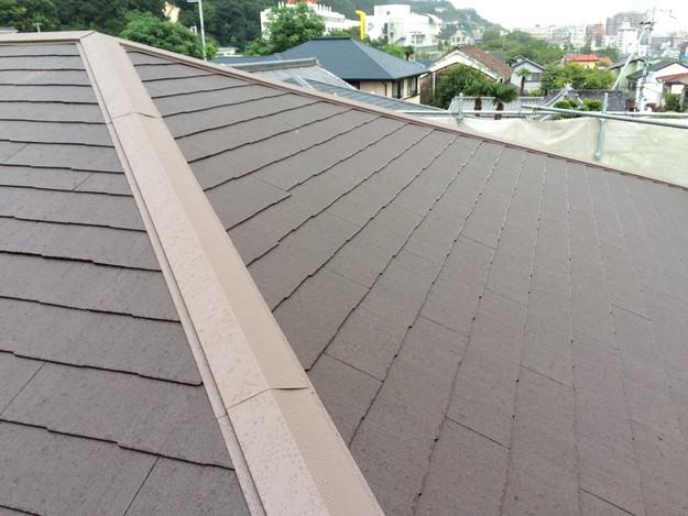 屋根のリフォーム完了写真神戸市1441974837803
