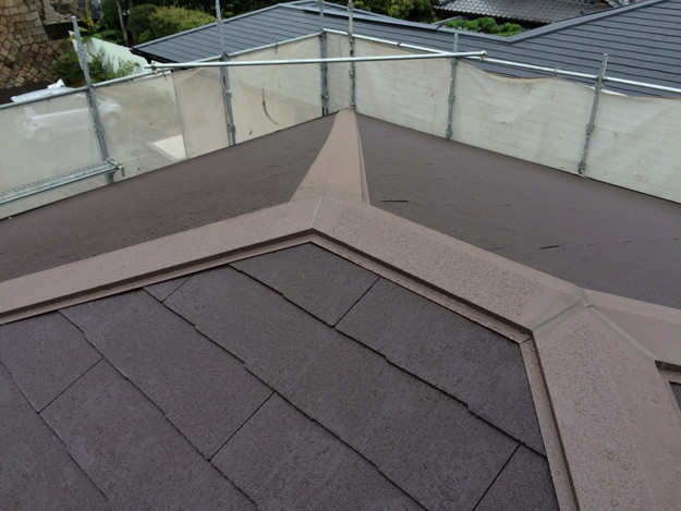 屋根のリフォーム完了写真神戸市1441974863454