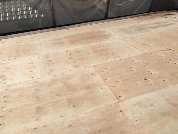 屋根下地づくりと補強工事屋根のリフォーム神戸1441974748589