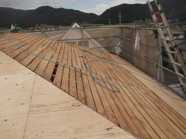 屋根下地づくりと補強工事DSCF2022