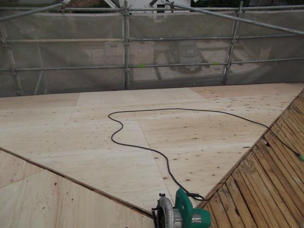 屋根下地づくりと補強工事DSCF2024