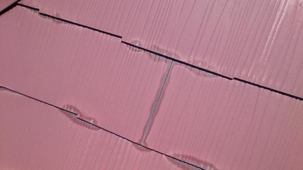 屋根塗装の隙間