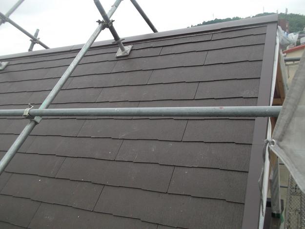 屋根材敷設カラーベストDSCF1968