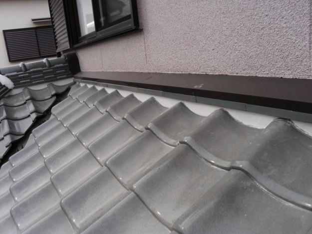 屋根漆喰交換施工後DSCI0349