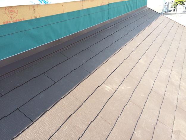 新築屋根工事と太陽光ソーラーパネル設置工事1443837726902