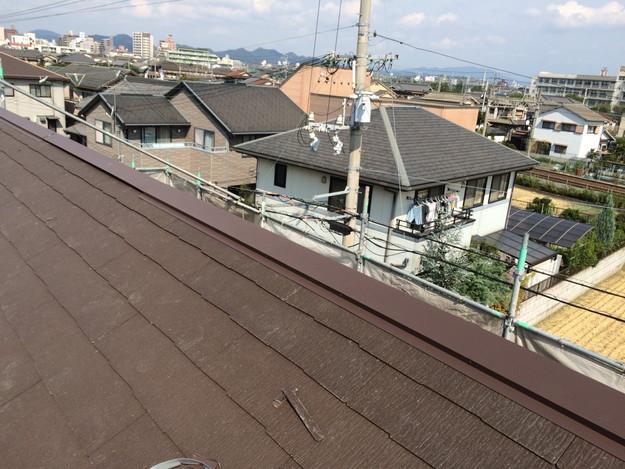 新築屋根工事と太陽光ソーラーパネル設置工事1443837732407