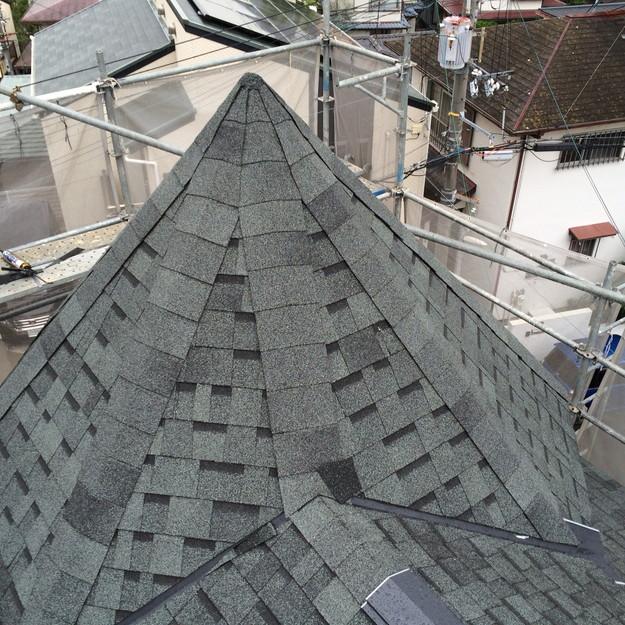 新築屋根工事神戸市西区1443837663109