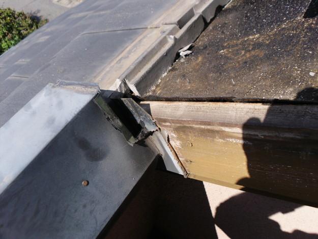 施工中雨漏り修理ケラバ箇所DSCI0146