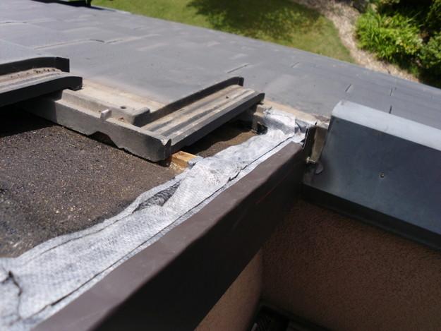 施工中雨漏り修理ケラバ箇所DSCI0151