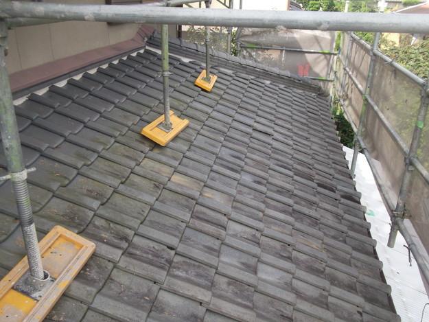 施工前の瓦屋根のリフォームDSCF2011