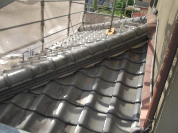 施工前の瓦屋根のリフォームDSCF2012
