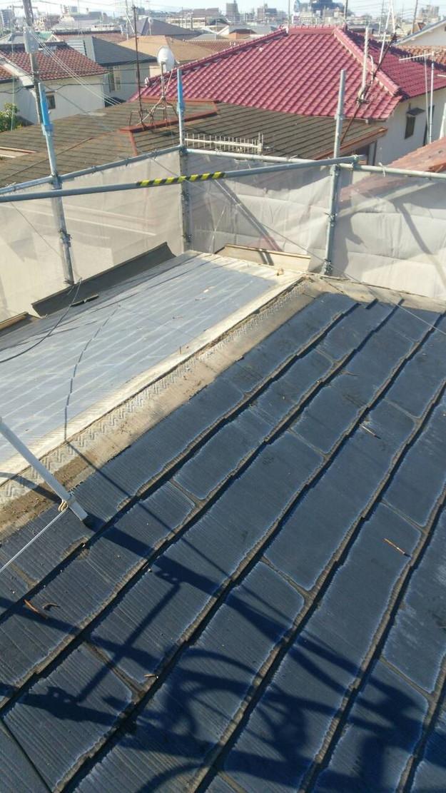 施工前屋根のリフォーム1442874490497