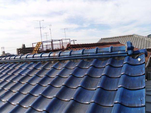 施工前雨漏り対策屋根修理神戸市DSCI0255