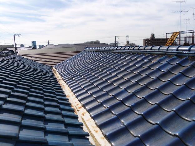 施工前雨漏り対策屋根修理神戸市DSCI0256