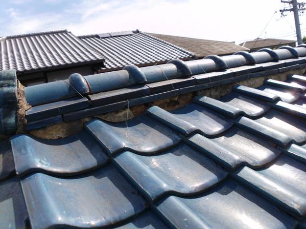 施工前雨漏り対策屋根修理神戸市DSCI0257