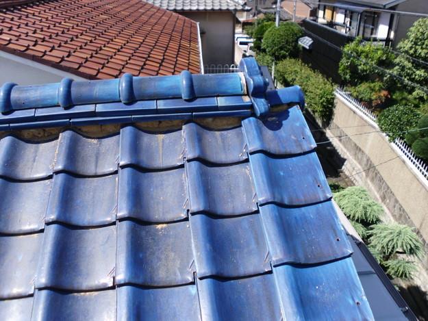 施工前雨漏り対策屋根修理神戸市DSCI0262