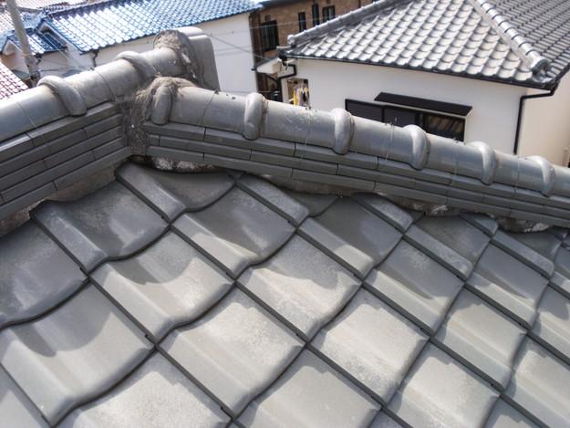施工前雨漏り対策屋根修理DSCI0293