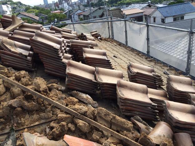 既存屋根撤去屋根のリフォーム神戸1441974718855