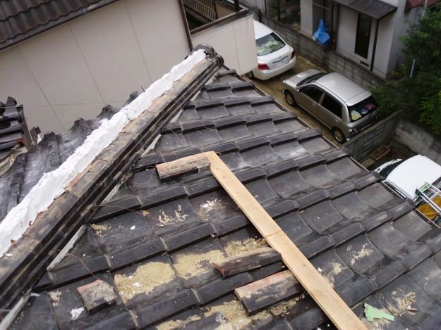 棟瓦箇所雨漏り対策屋根修理DSCI0397