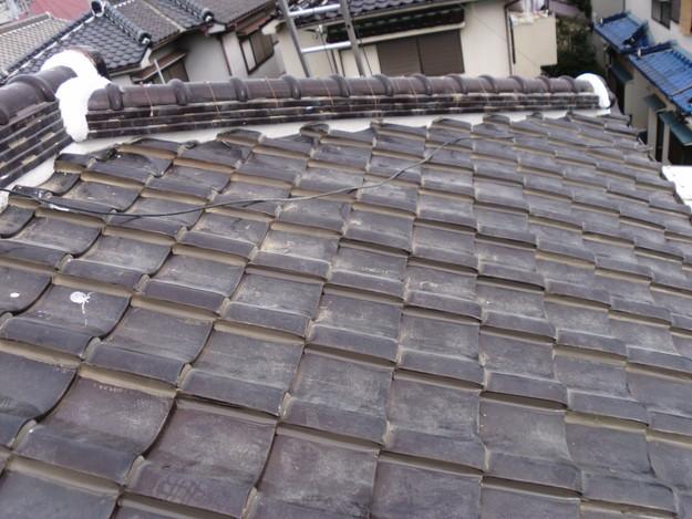 棟瓦箇所雨漏り対策屋根修理DSCI0400