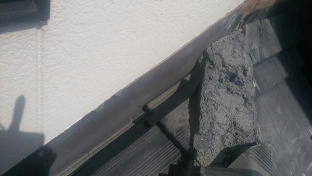 雨漏り修理壁際板金工事1441972179848
