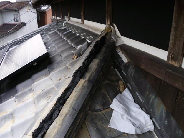 雨漏り修理棟瓦DSCI0169
