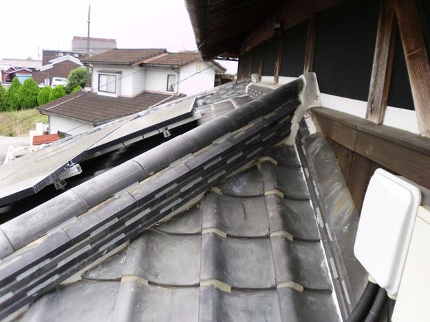 雨漏り修理棟瓦DSCI0171