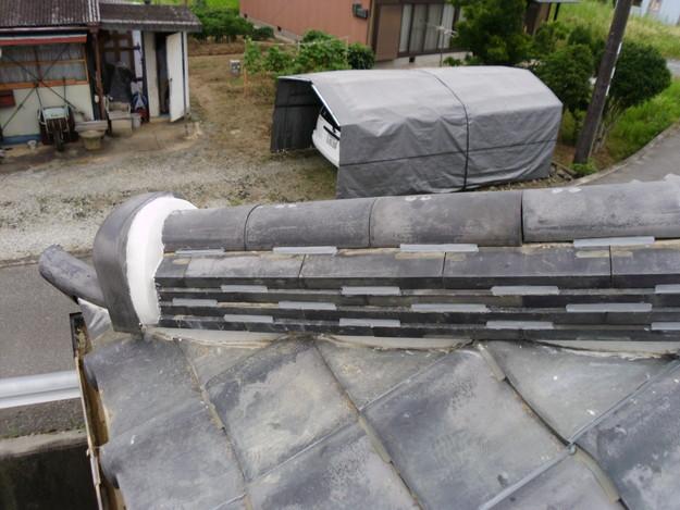 雨漏り修理棟瓦DSCI0181