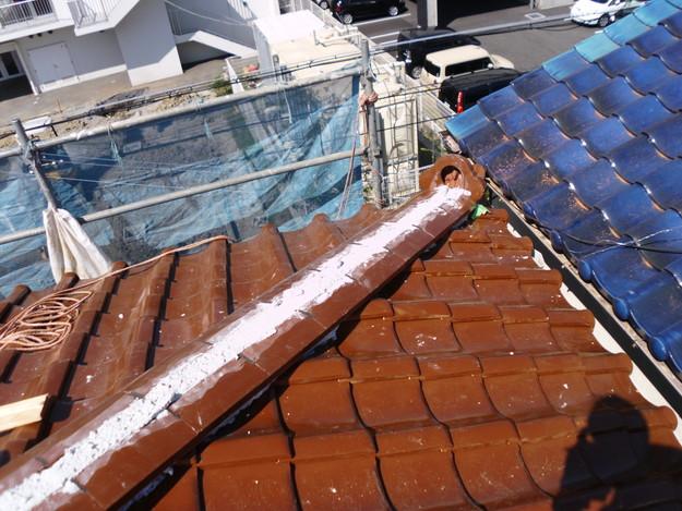 雨漏り対策屋根修理明石市DSCI0378