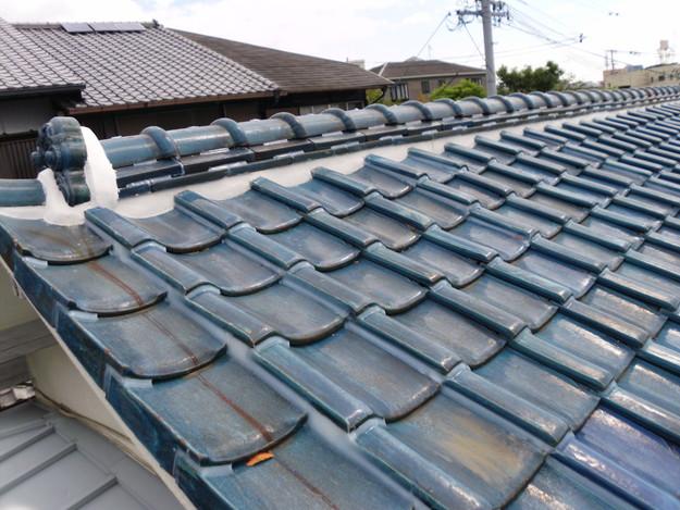 雨漏り対策漆喰工事とラバー工事DSCI0276