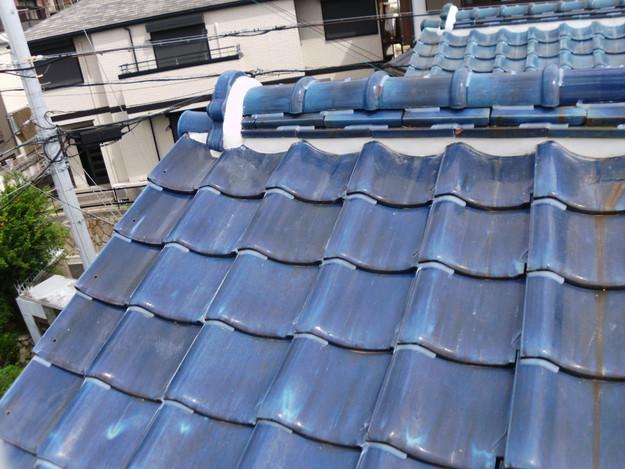 雨漏り対策漆喰工事とラバー工事DSCI0279