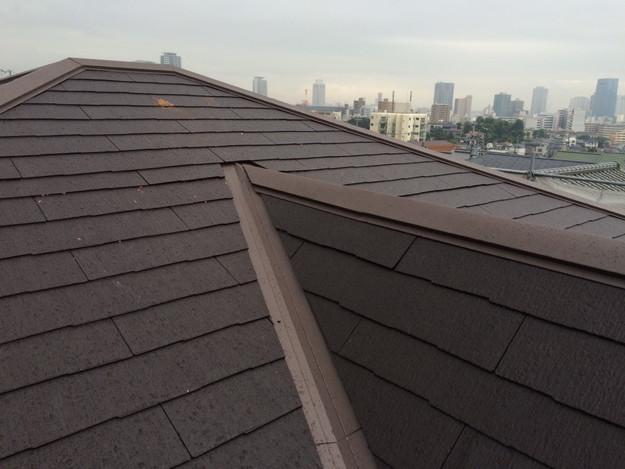 屋根のリフォーム完了写真神戸市1441974857937