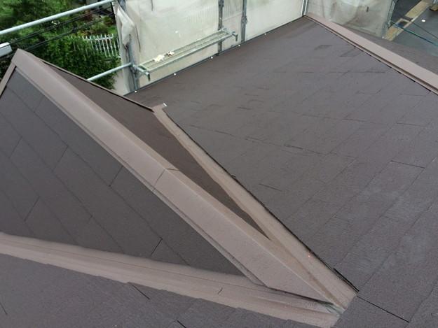屋根のリフォーム完了写真神戸市1441974867745