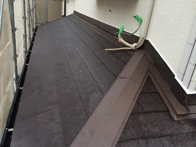 屋根のリフォーム完了写真神戸市1441974878711