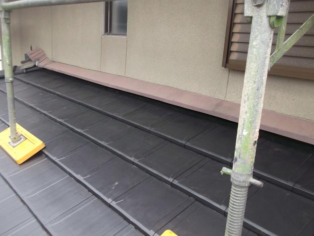 屋根のリフォーム工事完了DSCF2058
