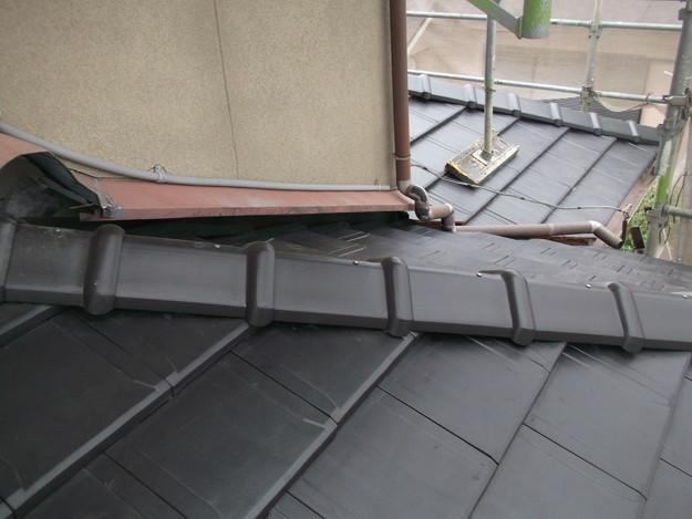 屋根のリフォーム工事完了DSCF2061