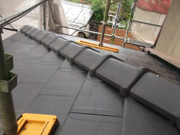 屋根のリフォーム工事完了DSCF2062