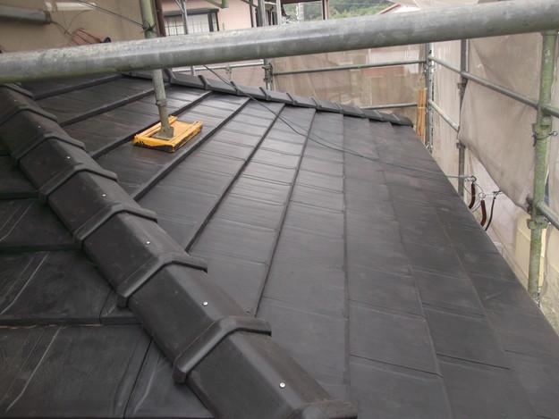 屋根のリフォーム工事完了DSCF2063