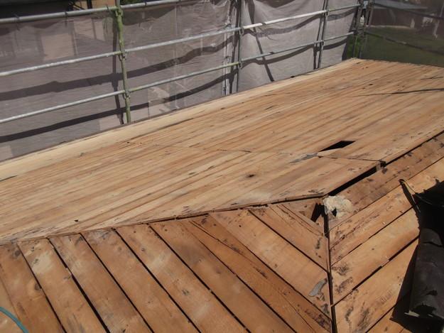屋根下地づくりと補強工事DSCF2019