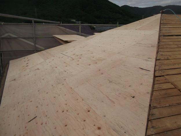 屋根下地づくりと補強工事DSCF2021
