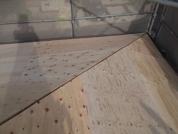 屋根下地づくりと補強工事DSCF2027