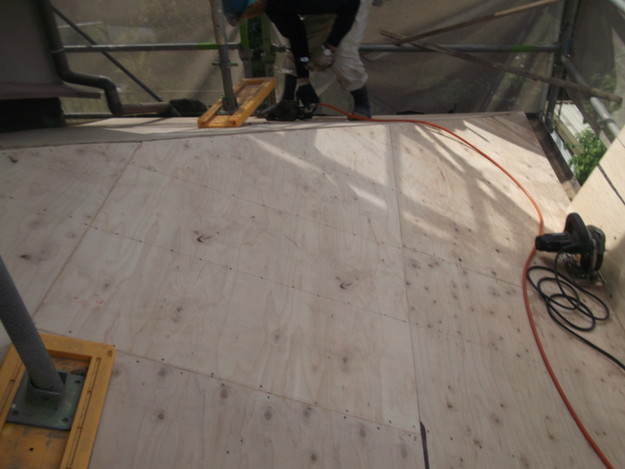 屋根下地づくりと補強工事DSCF2032