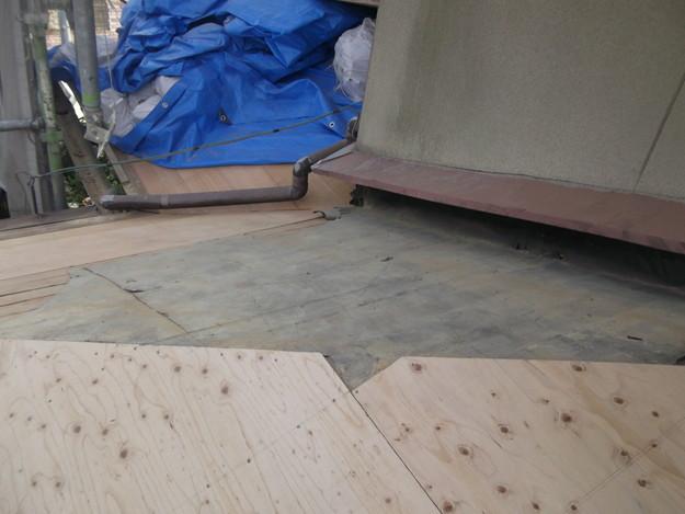 屋根下地づくりと補強工事DSCF2033