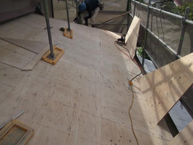 屋根下地づくりと補強工事DSCF2034