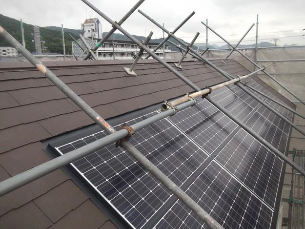 屋根材敷設カラーベストDSCF1971