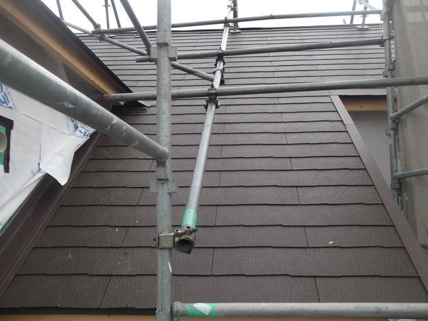 屋根材敷設カラーベストDSCF1980