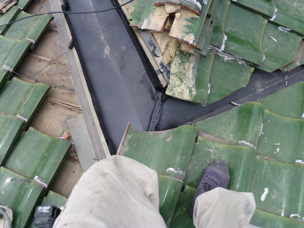 屋根板金工事ステンレス製DSCI0242