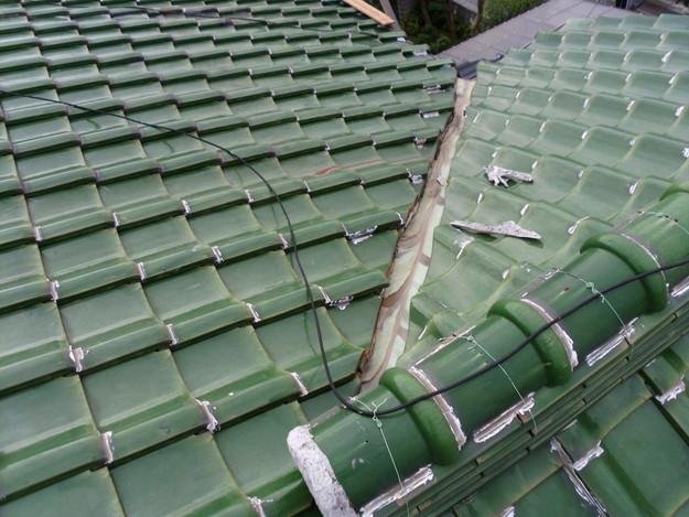 屋根板金工事施工前DSCI0228
