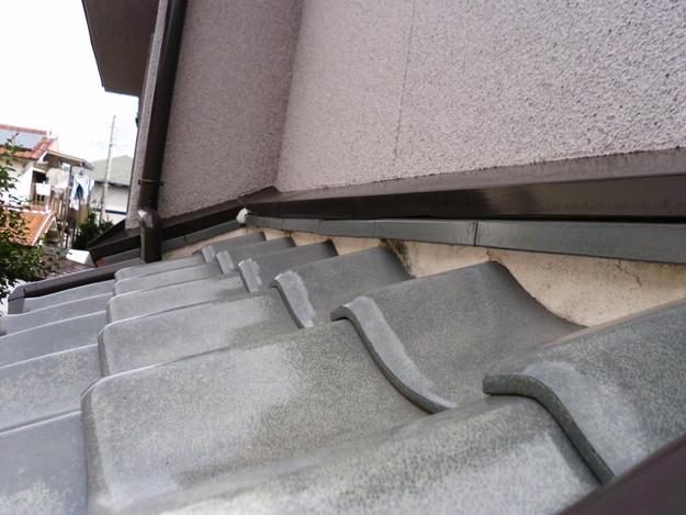 屋根漆喰交換作業施工前DSCI0322